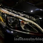 Mercedes C Class headlamp at the Indonesia International Motor Show 2014