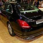Mercedes C Class rear three quarters at the Indonesia International Motor Show 2014