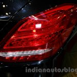 Mercedes C Class taillamp at the Indonesia International Motor Show 2014