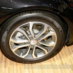 Mercedes C Class wheel at the Indonesia International Motor Show 2014
