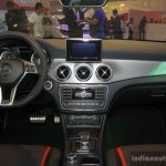 Mercedes CLA 45 AMG dashboard at the Philippines International Motor Show 2014