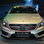Mercedes CLA 45 AMG front at the Philippines International Motor Show 2014