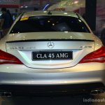 Mercedes CLA 45 AMG rear at the Philippines International Motor Show 2014
