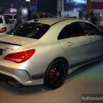 Mercedes CLA 45 AMG rear right three quarter at the Philippines International Motor Show 2014