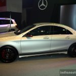Mercedes CLA 45 AMG side at the Philippines International Motor Show 2014