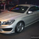 Mercedes CLA at the 2014 Philippines Motor Show front quarter