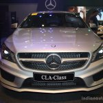 Mercedes CLA at the 2014 Philippines Motor Show front