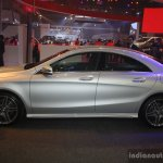 Mercedes CLA at the 2014 Philippines Motor Show profile
