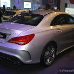 Mercedes CLA at the 2014 Philippines Motor Show rear quarter