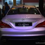 Mercedes CLA at the 2014 Philippines Motor Show rear