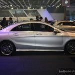 Mercedes CLA at the 2014 Philippines Motor Show side