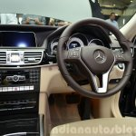 Mercedes E350 CDI launch cabin
