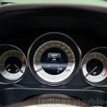Mercedes E350 CDI launch cluster