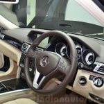 Mercedes E350 CDI launch dash