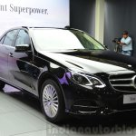 Mercedes E350 CDI launch front quarter