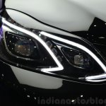 Mercedes E350 CDI launch headlamp