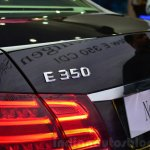 Mercedes E350 CDI launch logo