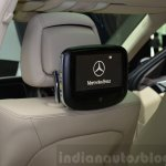 Mercedes E350 CDI launch rear entertainment