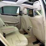 Mercedes E350 CDI launch rear legroom