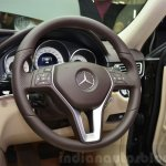 Mercedes E350 CDI launch steering