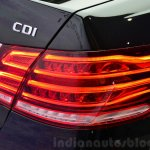 Mercedes E350 CDI launch taillights