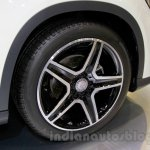Mercedes GLA alloy wheel at the Indonesia International Motor Show 2014