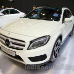 Mercedes GLA at the Indonesia International Motor Show 2014