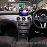 Mercedes GLA dashboard at the Indonesia International Motor Show 2014