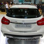 Mercedes GLA rear at the Indonesia International Motor Show 2014