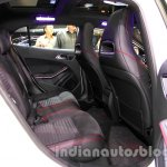 Mercedes GLA rear seat at the Indonesia International Motor Show 2014