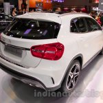 Mercedes GLA rear three quarters right at the Indonesia International Motor Show 2014
