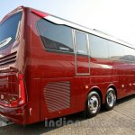Mercedes OC 500 RF 2542 bus chassis rear three quarters at the 2014 Indonesia International Motor Show