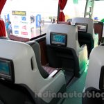 Mercedes OC 500 RF 2542 bus chassis seat at the 2014 Indonesia International Motor Show