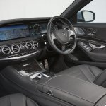 Mercedes S500 Plug-in Hybrid dashboard