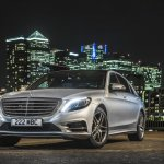 Mercedes S500 Plug-in Hybrid front three quarters left