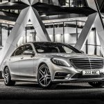 Mercedes S500 Plug-in Hybrid front three quarters