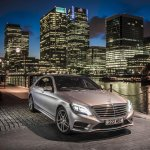 Mercedes S500 Plug-in Hybrid front