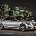 Mercedes S500 Plug-in Hybrid side