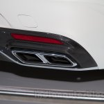 Mercedes S65 AMG Coupe exhaust tip at Moscow Motor Show 2014