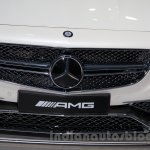 Mercedes S65 AMG Coupe grille at Moscow Motor Show 2014