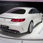Mercedes S65 AMG Coupe rear three quarters at Moscow Motor Show 2014