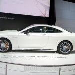 Mercedes S65 AMG Coupe side at Moscow Motor Show 2014