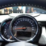 Mini 5 door instrument cluster at the 2014 Paris Motor Show