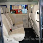 Mitsubishi Delica at the 2014 Indonesia International Motor Show rear seat