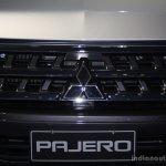 Mitsubishi Pajero facelift at CAMPI 2014 grille