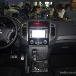 Mitsubishi Pajero facelift dashboard at CAMPI 2014