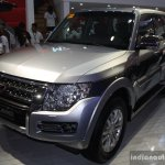 Mitsubishi Pajero facelift front three quarter at CAMPI 2014