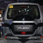 Mitsubishi Pajero facelift rear at CAMPI 2014
