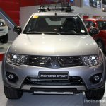 Mitusbishi Montero Sport front at the 2014 Philippines International Motor Show