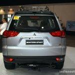 Mitusbishi Montero Sport rear at the 2014 Philippines International Motor Show